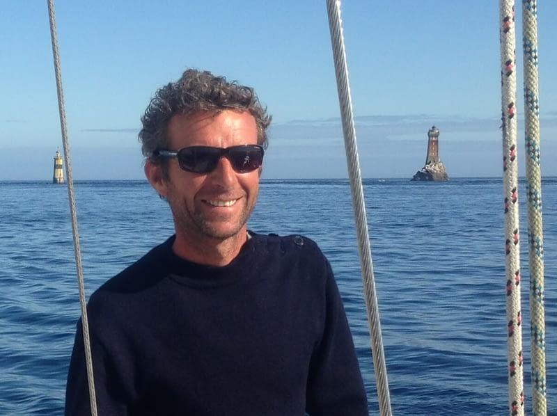 Alidade Voile École de croisière du Finistère David skipper